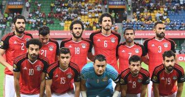 مباراة منتخب مصر أمام بوركينا فاسو، نتيجة ، صورة منتخب مصر في الجابون