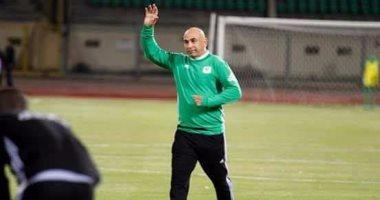 حسام حسن مدرب فريق المصري