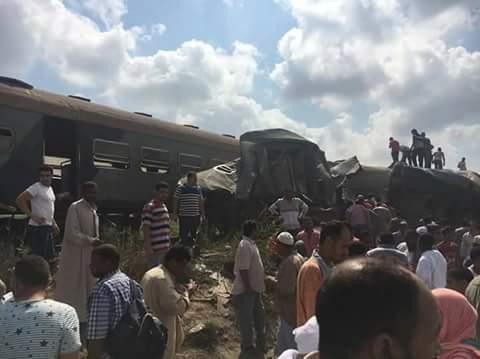 تفاصيل حادث قطار الأسكندرية وبورسعيد اليوم الجمعة 11 أغسطس 2017
