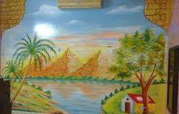 رسومات اطفال عن السياحة فى مصر